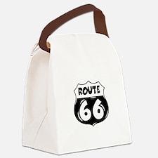 Festive Route 66 Canvas Lunch Bag