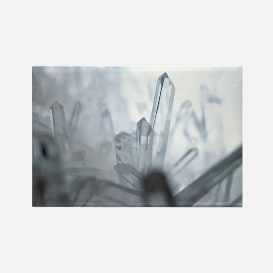 Quartz crystals Rectangle Magnet