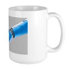 Cybernetic arm, artwork Mug