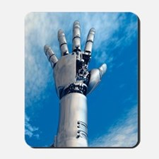Cybernetic arm, artwork Mousepad