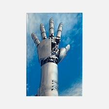 Cybernetic arm, artwork Rectangle Magnet