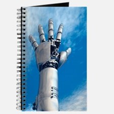 Cybernetic arm, artwork Journal