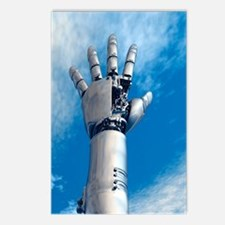 Cybernetic arm, artwork Postcards (Package of 8)