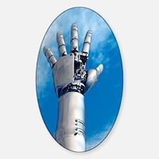 Cybernetic arm, artwork Decal