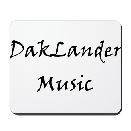 DakLander Music Mousepad