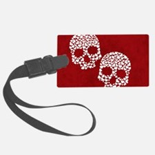 Heart Skull Luggage Tag