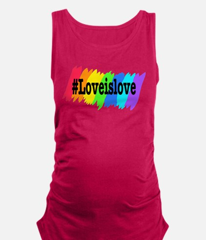 Love is Love Marriage Equality Tank Top