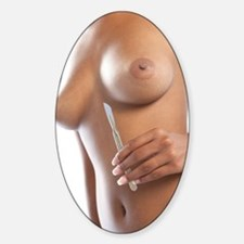 Cosmetic breast surgery Decal