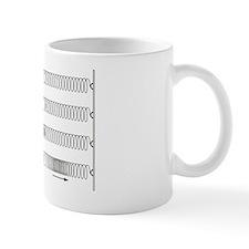 Primary seismic waves Mug