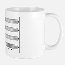 Primary seismic waves Mug