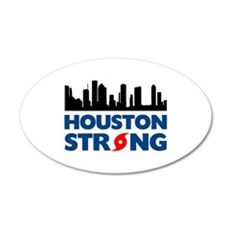 Houston Texas Strong Wall Decal