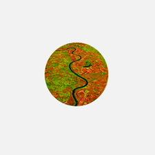 Pre-flood Missouri River Mini Button