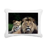 Lion Rectangle Canvas Pillows