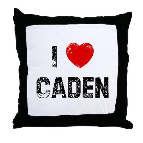 I * Caden Throw Pillow