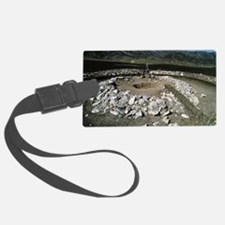 Prehistoric burial mound, Siberi Luggage Tag