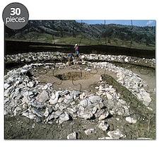 Prehistoric burial mound, Siberia Puzzle