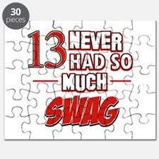 13 never had so much swag Puzzle