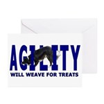 AGILITY: Will weave Greeting Cards (Pk of 10)