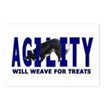 AGILITY: Will weave Postcards (Package of 8)