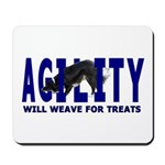 AGILITY: Will weave Mousepad