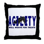 AGILITY: Will weave  Throw Pillow