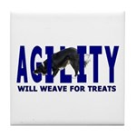 AGILITY: Will weave Tile Coaster