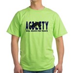 AGILITY: Will weave Green T-Shirt