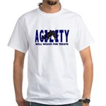 AGILITY: Will weave White T-Shirt
