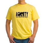 AGILITY: Will weave  Yellow T-Shirt