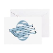 3-Pronged U-bar Greeting Cards (Pk of 10)