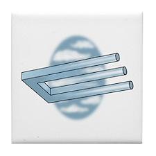 3-Pronged U-bar Tile Coaster