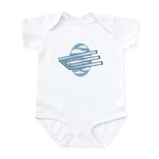 3-Pronged U-bar Infant Bodysuit