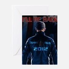 Obaminator 2012 Greeting Card