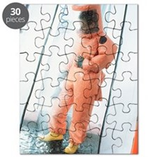 Pollution clean-up Puzzle