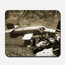 Natter manned rocket, World War II Mousepad