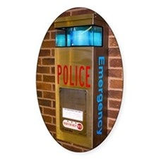 Police emergency telephone in Illin Decal