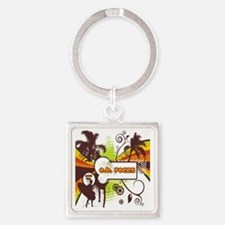 OB Rocks  - No Bad Days Square Keychain