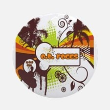 OB Rocks  - No Bad Days Round Ornament