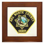 Del Norte Sheriff Framed Tile