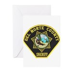 Del Norte Sheriff Greeting Cards (Pk of 10)