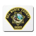 Del Norte Sheriff Mousepad