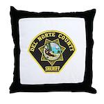 Del Norte Sheriff Throw Pillow