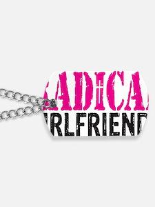Radical Girlfriends Dog Tags