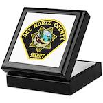 Del Norte Sheriff Keepsake Box
