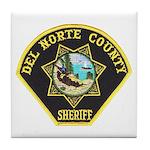 Del Norte Sheriff Tile Coaster