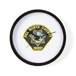 Del Norte Sheriff Wall Clock
