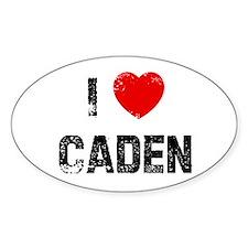 I * Caden Oval Decal
