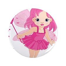 "Cute Little Baby Love fairy 3.5"" Button"