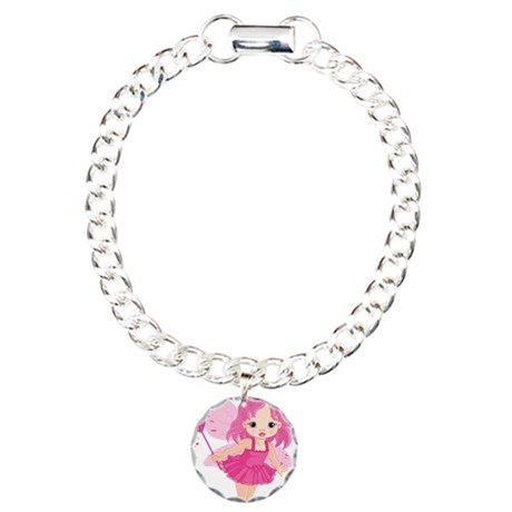 Cute Little Baby Love fa Charm Bracelet, One Charm