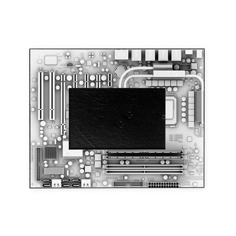 Computer motherboard, artwork Picture Frame